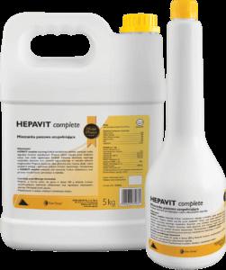 Preparat wspomagający odtłuszczenie wątroby i stymulujący jej funkcje metaboliczne Hepavit complete.