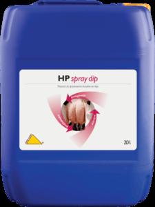Preparat do maszynowej higieny strzyków po doju HP Spray dip.