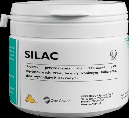 Preparat do zakiszania Silac.
