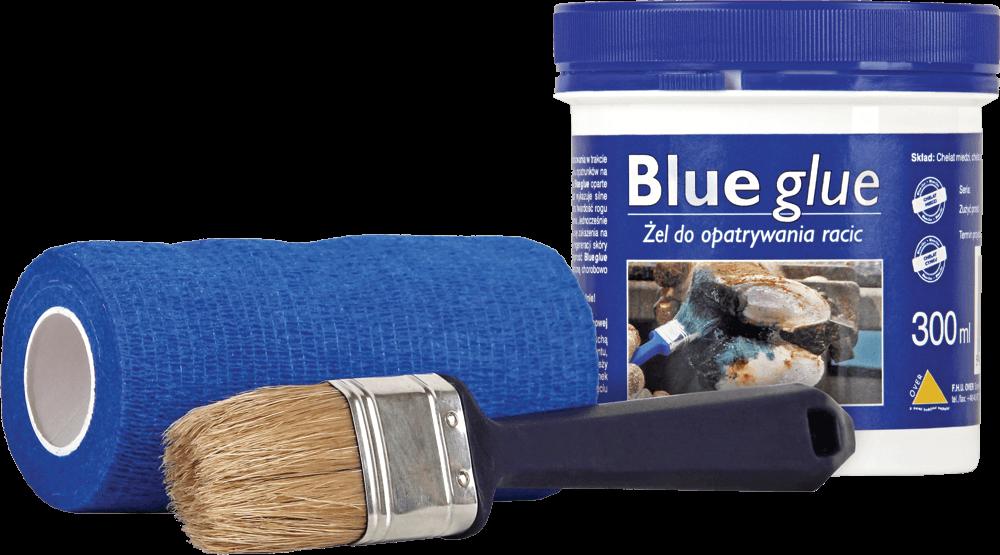 Żel do opatrywania racic Blue glue.